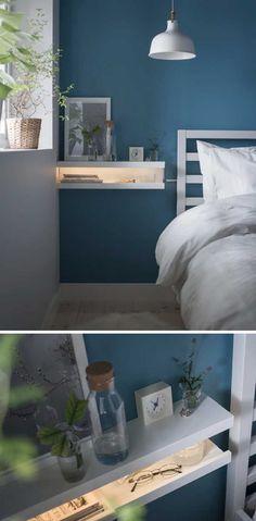 Mensole IKEA: 15 modi di utilizzarle in modo furbo per arredare! Ispiratevi