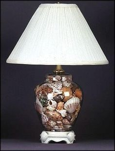 How to Make a Seashell Lamp - InfoBarrel