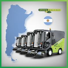 Lithium-Ion powered city-cleaning street sweeper City Clean, Safe Storage, Neat And Tidy, Small Changes, Our Planet, Go Green, Worlds Of Fun, Save Energy, All Over The World