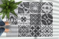 Moroccan tiles floor mat, pvc kitchen rug, Linoleum area rug, grey rug, Oriental design, Decorative carpet, Ethnic style rug, Geometric Grey Kitchen Tiles, Grey Floor Tiles, Kitchen Rug, Vinyl Floor Mat, Vinyl Rug, Floor Mats, Minimalist Rugs, Grey Home Decor, Moroccan Tiles