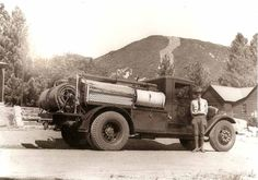 United States Forest Service firefighter in 1930, Indiana