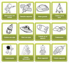 En este enlace podréis colorear de forma online dibujos del UNIVERSO       ENLACE   Fuente:  http://espacio.dibujos.net/