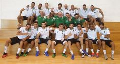 This is the SCP Handball Team, season 2016/17, ready to conquer the Championship? lets hope so. They started well by winning the Viseu international Tournament against SL Benfica. Well done!!