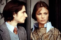 Jean-Pierre Leaud & Jacqueline Bisset in Truffaut's DAY FOR NIGHT