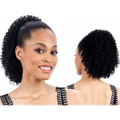Model Model Drawstring Ponytail – Bohemian Soul Girl COLOR: 1 Short Ponytail, Weave Ponytail, High Ponytails, Ponytail Hairstyles, Curly Hair Styles, Natural Hair Styles, Drawstring Ponytail, Afro Puff, Tight Curls
