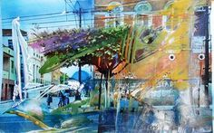Original Abstract Painting by Ulrich De Balbian Abstract Expressionism Art, Saatchi Art, Original Paintings, Fair Grounds, My Arts, Fine Art, Contemporary, Wall Art, The Originals