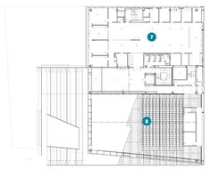 Institute of Contemporary Art, Boston by Diller Scofidio & Renfro Institute Of Contemporary Art, Concert Hall, Theater, Boston, Floor Plans, Flooring, How To Plan, Architecture, Arquitetura