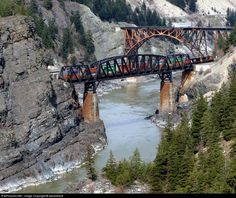 Canadian National Railway EMD at Cisco, British Columbia