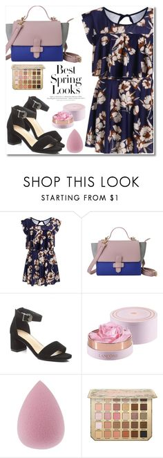 """#89"" by aida-nurkovic ❤ liked on Polyvore featuring H&M and Lancôme"