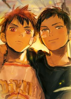 i'd honestly love to see these two interact as children!! it would be so cute :3