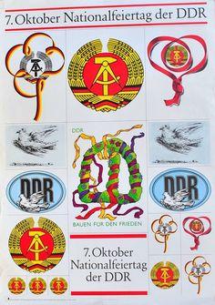 DDR Propaganda zum 7. Oktober
