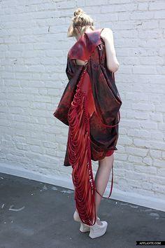 'Thanatology' Fashion Collection // Alexeyevna | Afflante.com