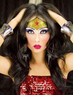 Halloween Wonder Woman Makeovers