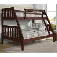 Donco Twin over Full Bunk Bed - DOT118