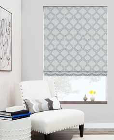 Hand-tailored with the greatest care, our Flat Roman Shades provide a clean & elegant finish to any room. View our entire Roman Shade collection online.