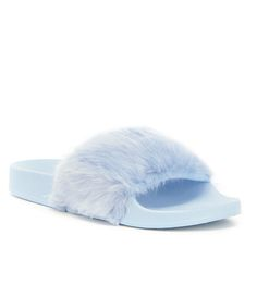 Shop for Steve Madden Softey Faux Fur Slide-On Sandals at Dillards.com. Visit Dillards.com to find clothing, accessories, shoes, cosmetics & more. The Style of Your Life.