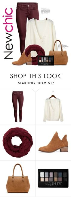 """Sweater"" by nevaehkern ❤ liked on Polyvore featuring New Directions, Maybelline, autumn, contestentry, fashionset and falltrend"