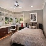 Modern Makeover Teen Bedroom with Study Table Design