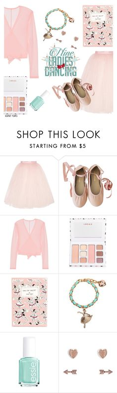 """""""Ninth Day of Christmas: Nine Ladies Dancing"""" by heather-reaves ❤ liked on Polyvore featuring Ballet Beautiful, LORAC, Olympia Le-Tan, KINNO, Essie and Vera Bradley"""
