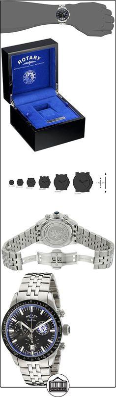 Rotary gb90048/04 - Reloj para hombres, correa de acero inoxidable  ✿ Relojes para hombre - (Lujo) ✿