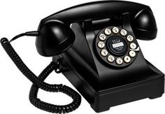 Vintage Desk Phone | 1930s Design Telephone | Faux Rotary Dial
