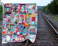Srappy Improv Quilt