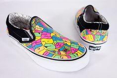 VANS New Joel Tudor Limited Edition Slip On Shoes Size 6.5 M 8 W Surfer Sneakers #VANS #LoafersSlipOns