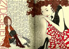 journal pages by Cecília Murgel Sao Paulo, Sp,, BR