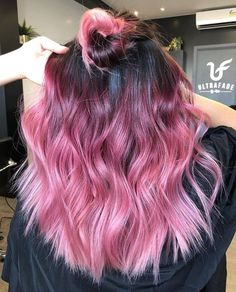 99 Amazing Ombre Hairstyles 7 Best Hair Color Trends Of 33 Blue Ombre Hair Color Trend In 2019 2020 20 Inspira, Prettiest Pink Ombre Hair Color Shades to Show F In 45 Ombre Hair Color Ideas and 2019 Trends Short & Long Ombre. Kids Hair Color, Pretty Hair Color, Hair Color Shades, Hair Color Pink, Hair Dye Colors, Amazing Hair Color, Pink Hair Tips, Ombre Colour, Pink Purple Hair