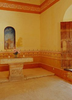 Hacienda Style:  Always wanted a chapel in my house
