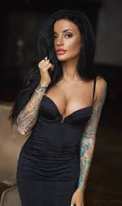 Image result for fashion for tattooed women