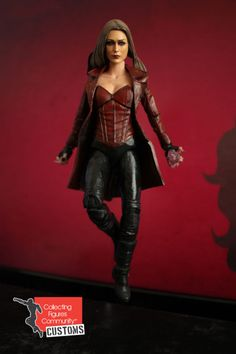Scarlet Witch (Civil War outfit) (Marvel Select) Custom Action Figure