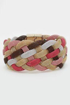 Cool braided bracelet.
