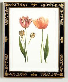 Two Tulips Framed Wall Art from www.wellappointedhouse.com