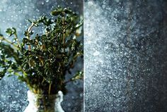 thyme and water