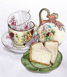 the art of afternoon tea blog... mmm cheesecake