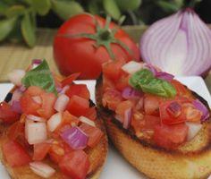 Bruschetta Bruschetta, Food Ideas, Fresh, Ethnic Recipes
