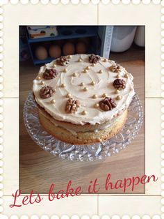 I carnt resist making coffee cake! And eating it for breakfast
