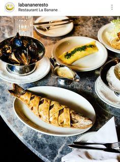 Restaurant, Ethnic Recipes, Food, Banana, Diner Restaurant, Essen, Meals, Restaurants, Yemek