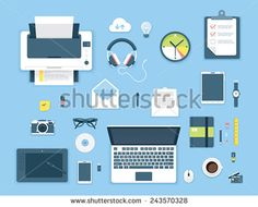 portfolio featuring high quality royalty free images available for purchase on shutterstock awesome office table top view shutterstock id