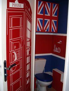 london decor | ToiletZone - La décoration de vos toilettes style : London