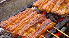 [Best Asian Food] Street food Vietnam 2017 Grilled EEL FISH