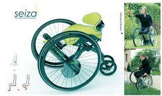 Seiza nova concepção de cadeira de rodas | Portal PcD On-Line