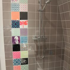 Shower #arttiles