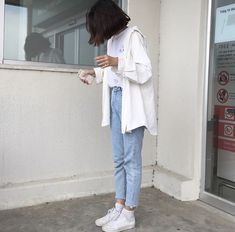 korean fashion aesthetic outfits soft kfashion ulzzang girl 얼짱 casual clothes grunge minimalistic cute kawaii comfy formal everyday street spring summer autumn winter g e o r g i a n a : c l o t h e s Korean Fashion Ulzzang, Korean Fashion Trends, Korean Street Fashion, Korea Fashion, Asian Fashion, Korean Ootd, Filipino Fashion, High Fashion, Mode Outfits