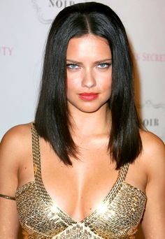 Magnificent Adriana Lima And Lima On Pinterest Short Hairstyles For Black Women Fulllsitofus
