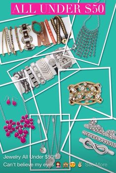 Premier designs jewelry under $50! Just in time for Christmas! #pdstyle #christmasshopping #premierdesigns Tons more gift ideas at www.selayoung.mypremierdesigns.com