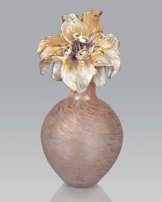 Jay Strongwater Lily Perfume Bottle