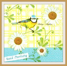 A personal favorite from my Etsy shop https://www.etsy.com/listing/255851420/paper-napkins-for-decoupage-little-bird