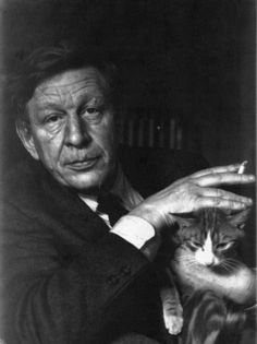 W.H. Auden with his cat, Pangur